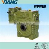 Worm Wheel Drive Speed Transmission Generator Gearbox
