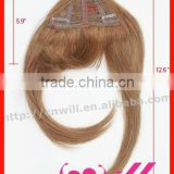 Human Remy Clip In Hair Bangs Fashion Hair Bangs Clip In Hair Extension Hair Accessories
