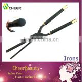 Black curling iron BI001/hair curling machine/curling iron stove set
