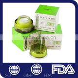 Private label green tea scar removing pimples treatment moist anti acne cream