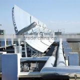Wood Process industry solar parabolic trough collector boiler Colector de canal parabolico