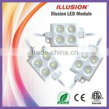 High Lumen Sign Lighting Use 3 Years Warranty CE ROHS ETL Certificate DC12V Waterproof plastic injection led module