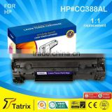 Top Rate Quality for HP CC388AL Compatible Toner Cartridge Use for HP LaserJet P1007/P1008/P1106/P1108 Laser Printer