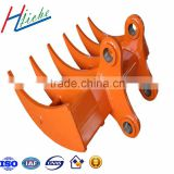 Excavator attachment heavy duty skeleton excavator bucket