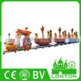 China Supplier Children Game Ride Toy Used Track Train Adult Rides