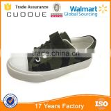 army green children shoes