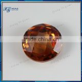 Xiang Yi gems hot sale synthetic round shape cubic zirconial!! double checkerboard cut cubic zirconia