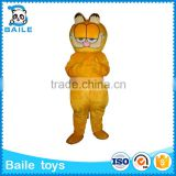 Cartoon Garfield High Quality Mascot Costume wholesale