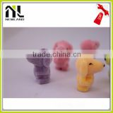 Factory New Lovely Flocking Miniature Animal mini plastic toy animal mini sex animal with women