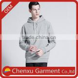 new men's autumn/winter hooded sweatshirts hoodies casual pullovers custom grey slim fit men high quality embroidered hoodies