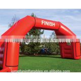 Rental Inflatable Finish Arch/Cheap arch for sale 2015 custom-made Inflatable advertising gate