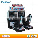 Funshare racing car simulator video game machine outrun arcade machine racing arcade cabinet