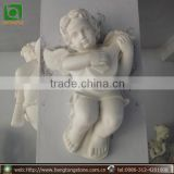 Small White Marble Wall Hanging Angel Statue