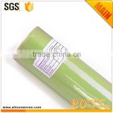 China Supplier airlaid nonwoven Roll No.3 Apple Green (60g x 0.6m x18m)