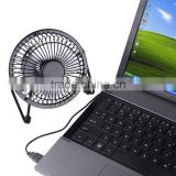 USB Fan Mini Portable Desktop Cooling Desk Quiet Fan For Computer Laptop Pc