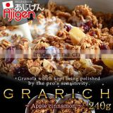 High quality and Natural breakfast corn flakes cereals manufacturers apple cinnamon with Flavorful made in Japan