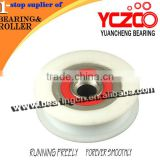Hot sale nylon sliding door roller/caster wheels for sliding door
