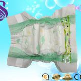 baby diapers import from china plain white PE film cotton baby disposable diaper