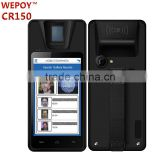 Android WIFI 3G Bluetooth GPS Camera Handheld PDA fingeprint device with FBI PIV certified