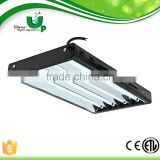 Chin-up high output T5 24w 54w grow light tube reflector for greenhouse propagation system