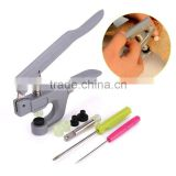 T3 / T5 / T8 Plastic Resin Snap Button Installation Tool Button Clamp Pressure Deduction
