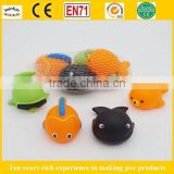 baby bath toy floating animals, Soft Custom Bath Toys For Kids, Lovly Animal Bath Toy for child