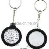 Creative Fashion Tape Measure Keychain/Tire Type Key Chain Ring