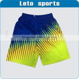 polyester black men's basketball shorts