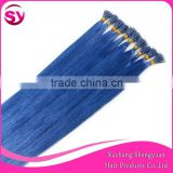 Professional supply human hair extension, Manufacturers selling human pre-bonded hair extension I-tip V-tip U-tip micro loop