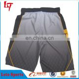 Custom wholesale plain 100%polyester dry fit MMA shorts Custom Sublimation Men Running Shorts