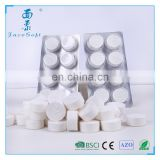 Pills case packing !Magic coin tissue Compressed nonwoven towels Disposable compressed wipes