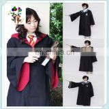 Cheap Party Costume Harry Potter Gryffindor Cloak Robe Super Hero Capes HPC-0500
