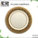 Food grade classical emporium melamine dinner plate for wholesale