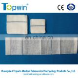 Cotton gauze swab with X detectable ray