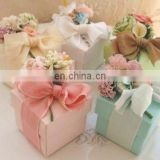 Flower Bouquet Favor Box with Candy or Tea