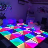 RGB dance floor 1x1m Disco dancing floor led panel tile