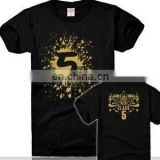 Women/Men's Fashion Design Short Sleeve Crew Neck Custom Tee Shirt