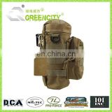 Military MOLLE Tactical Travel Water Bottle Kettle Pouch Carry Bag Case for Outdoor Activities