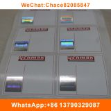 Hot stamped security hologram paper label