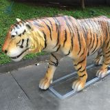 Outdoor Playground Attractive Artificial Animatronic Tiger In Other Amusement Park