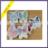 High quality beautiful butterfly shaped sticky note pad for school and office