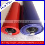 114mm Dia CEMA Troughing Roller Conveyor Idler Set Painted Steel Carrying Roller