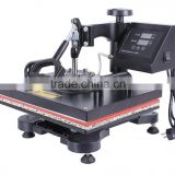 pneumatic auto flat heat press machine for t-shirt sublimation &Pneumatic t-shirt printer
