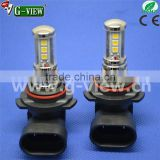 China car led factory LG3030 chip 9smd 10-30v AC led light for car