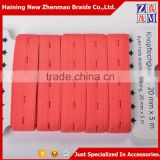 Wholesale knitted button hole elastic webbing for eyelet tape