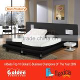 King Size Electric Adjustable Bed Custom Made Beds with Latex Memory Mattresses for Free