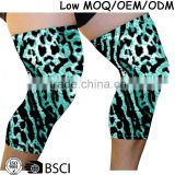2016 Hot Sale Spandex knitted thin Knee Compression long Sleeves