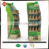 New Design plastic displays Floor standing Hot Selling display shelf custom plastic display stand