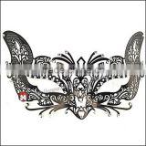 unconventional Filigree Mask Brilliant Rhinestones wedding decoration