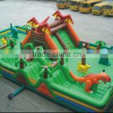 commercial giant inflatable playground / inflatable children playground / inflatable dragon city playground